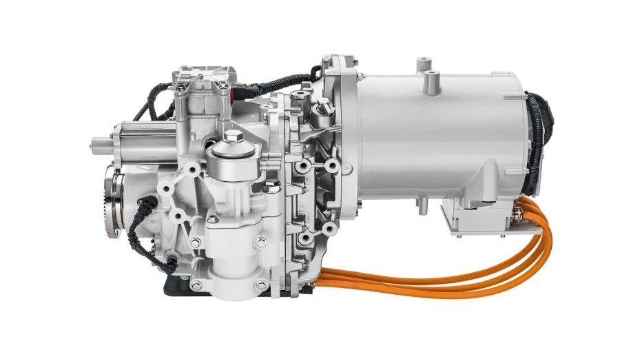 Двигатель Volvo FL Electric.