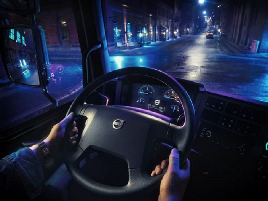 Volvo FL Electric. кабина
