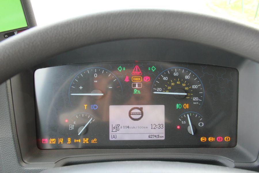 Приборная панель Volvo FE Electric