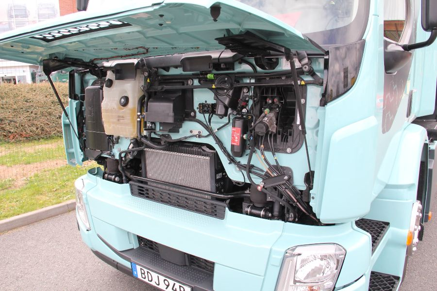 Volvo FE Electric, под капотом