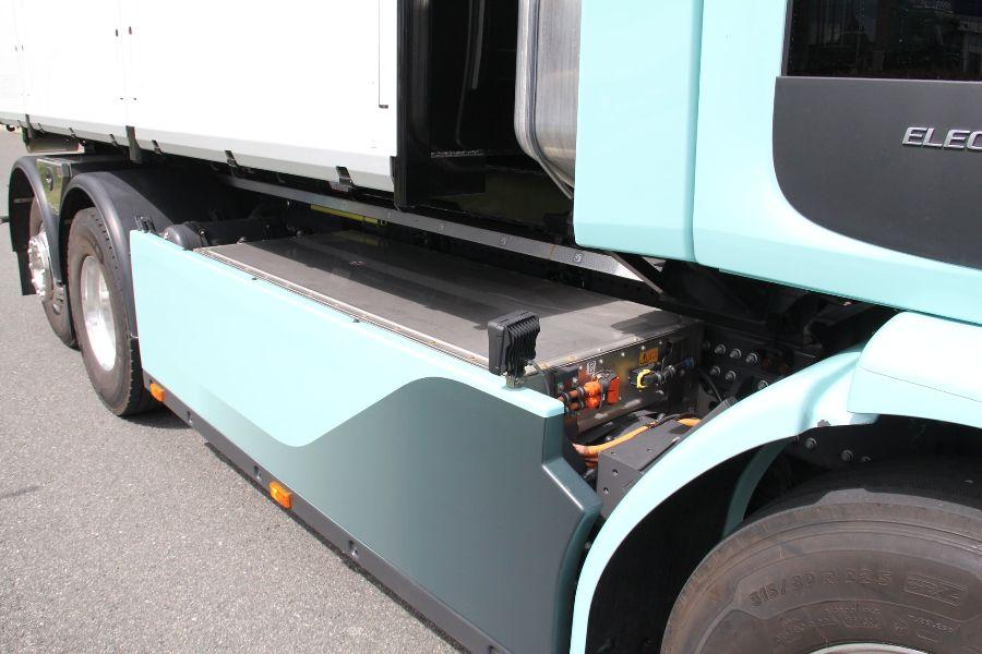 Аккумулятор, Volvo FE Electric