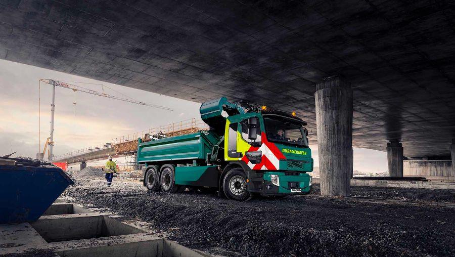 Volvo FE Electric, перевозка грузов