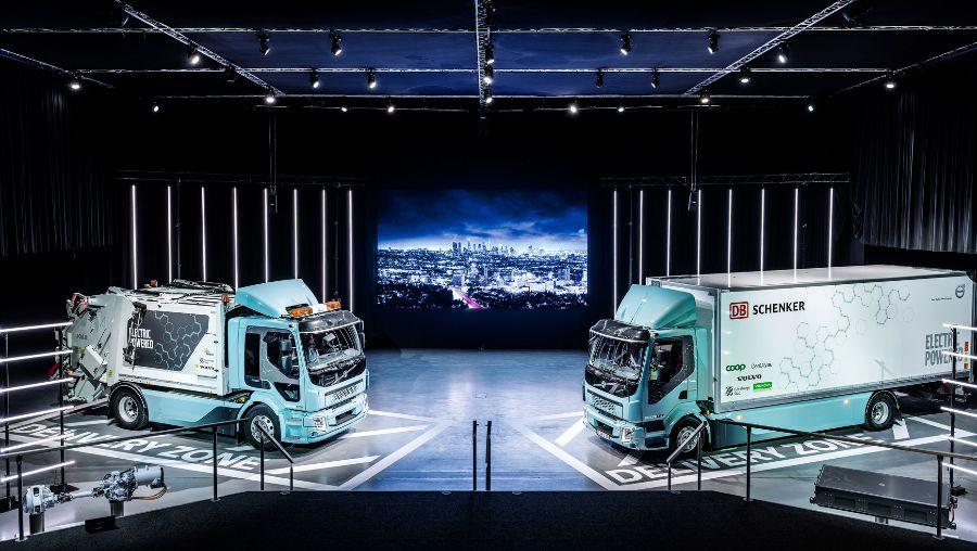 Volvo FL Electric. Презентация