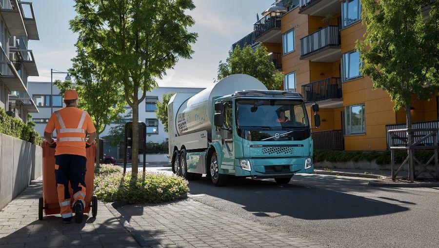 Volvo FE Electric, охрана природы