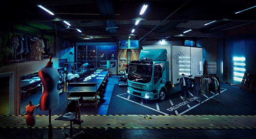 Volvo FL Electric. Компактный электрогрузовик