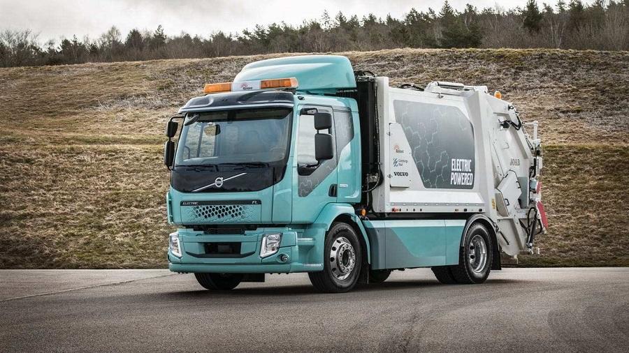 Volvo FL Electric. Мусоровоз