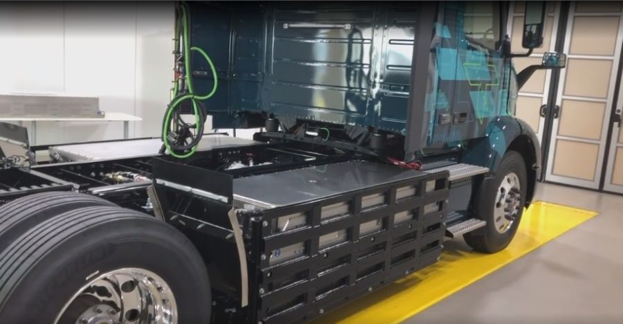 VNR Electric, аккумуляторные батареи, размещение