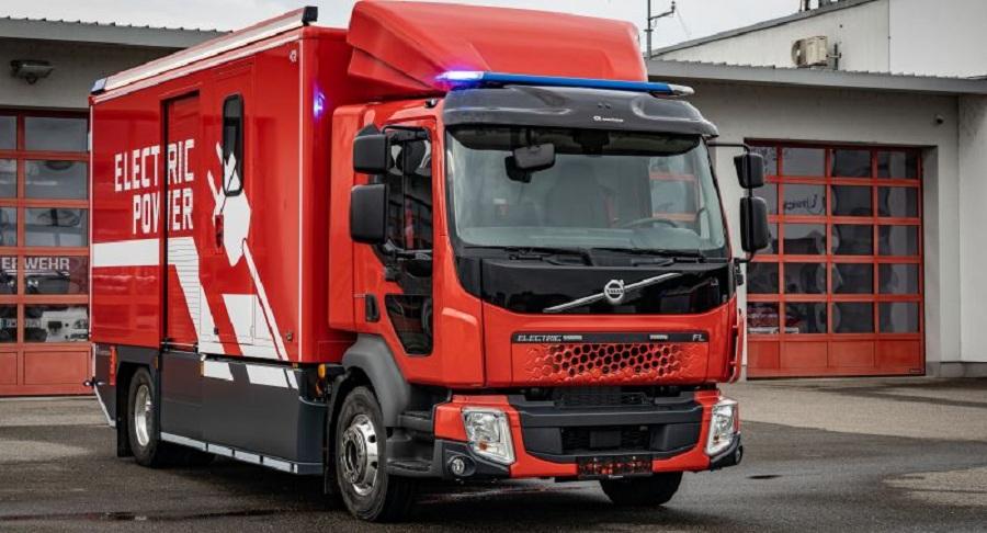Volvo FL Electric. Пожарный автомобиль