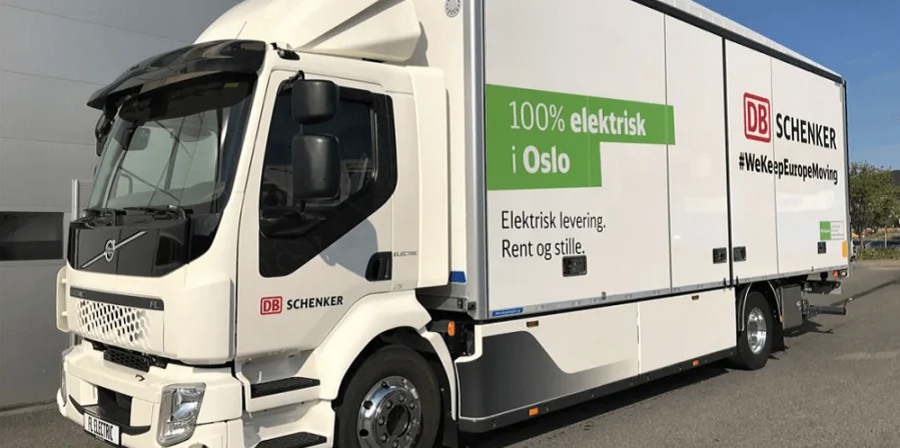Volvo FL Electric. Норвегия