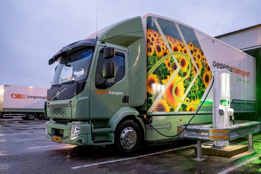 Volvo FL Electric. Нидерланды