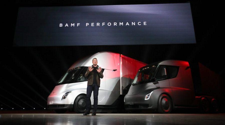 Илон Маск.  Tesla Semi