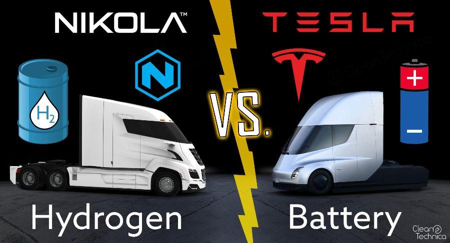 Nikola Motor, Tesla Motor, технологии