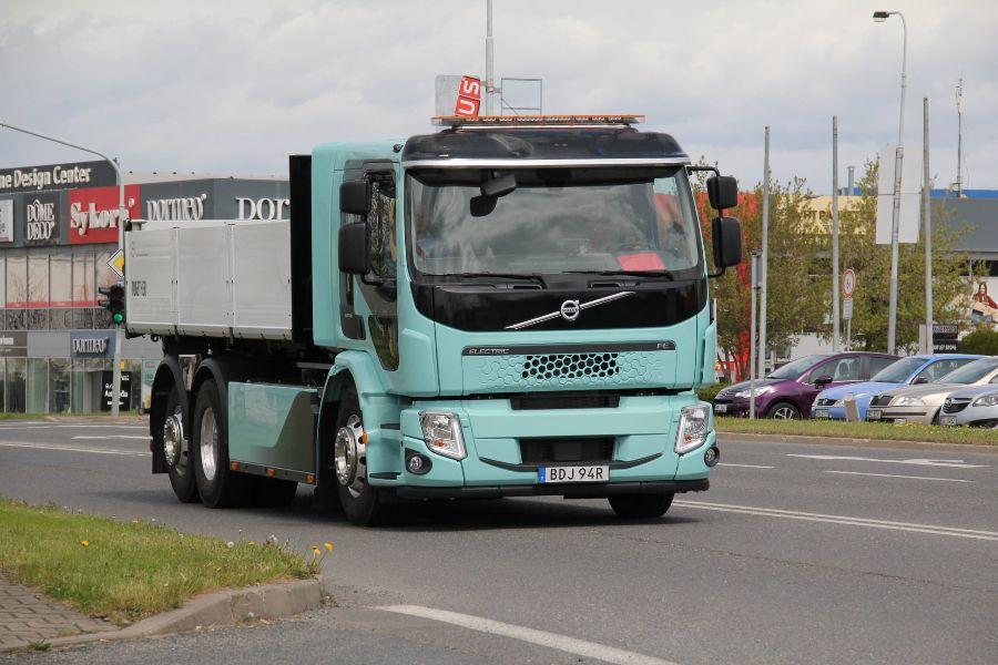 Volvo FE Electric, Прага