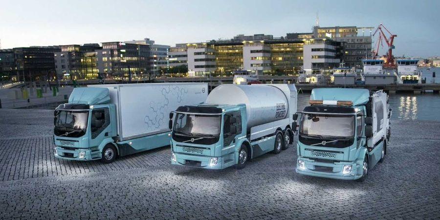 Электрифицированные грузовики Volvo