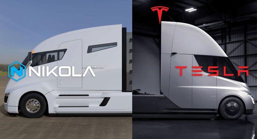 Nikola Motors. Tesla