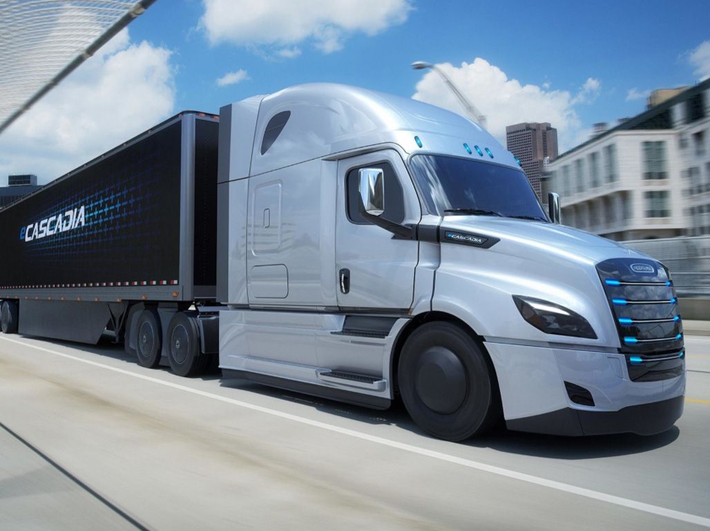 Freightliner eCascadia — eltruck.ru