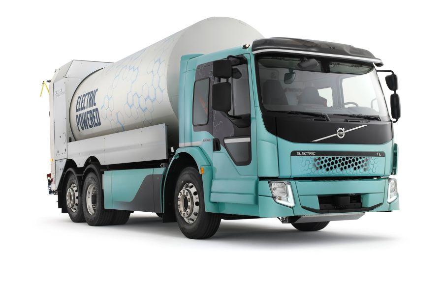 Volvo FE Electric, мусоровоз