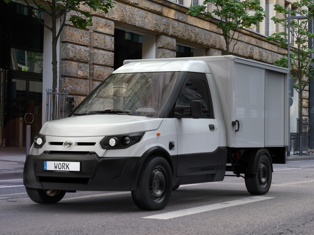 Ford StreetScooter WORK — eltruck.ru