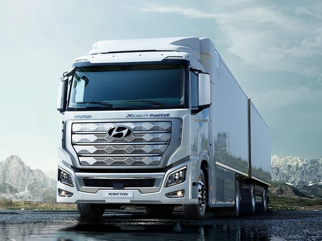 Hyundai H2 XCient Fuel Cel — eltruck.ru