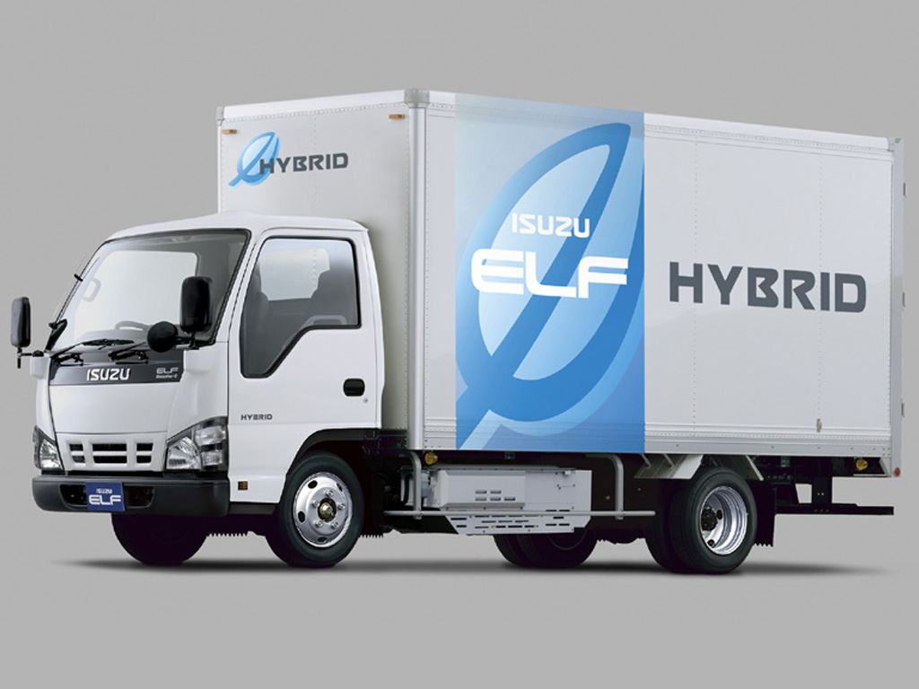 Isuzu Elf Hybrid — eltruck.ru