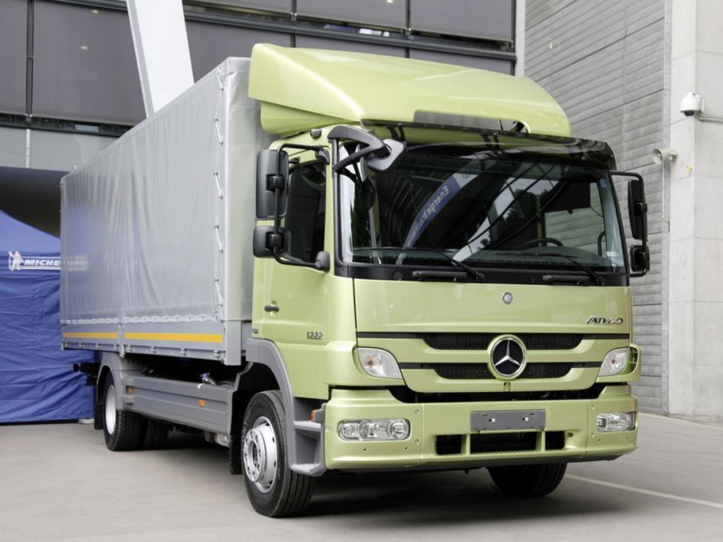 Mercedes-Benz Atego BlueTec Hybrid — eltruck.ru