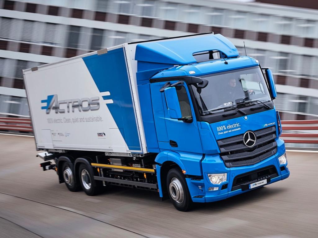 Mercedes-Benz eActros — eltruck.ru