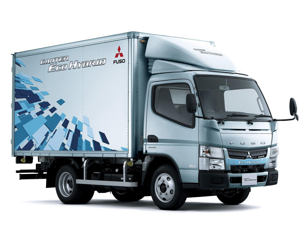 Mitsubishi Fuso Canter Eco Hybrid — eltruck.ru