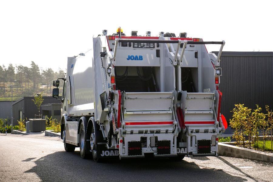 Volvo FE Electric, сбор отходов