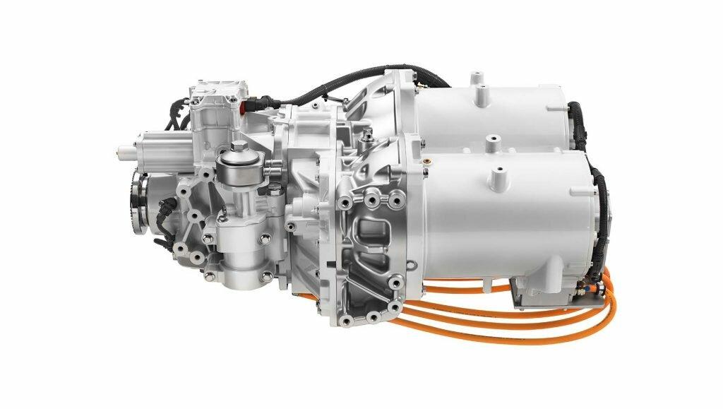 Электродвигатель Volvo FE Electric