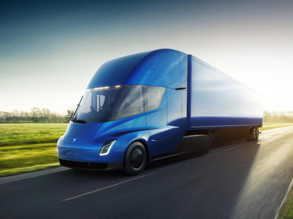 Tesla Semi — eltruck.ru