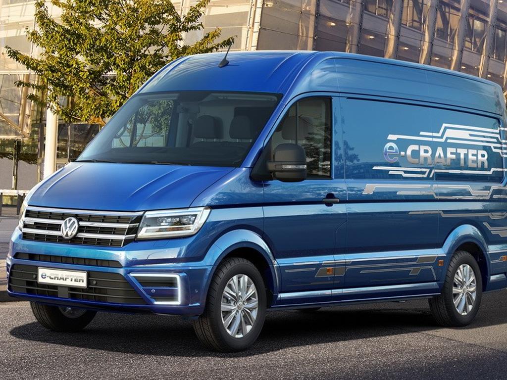 Volkswagen e-Crafter — eltruck.ru